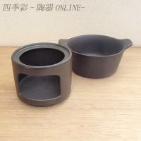 アヒージョやタパスなどの鍋としてもご利用いただける耐熱陶器のソースポットです。チーズフォンデュ、チョ...