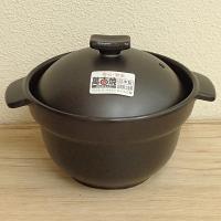 かまどで炊いたような美味しいご飯が炊ける、人気の二重蓋の1合炊きご飯土鍋です。 直火、電子レンジ、オ...