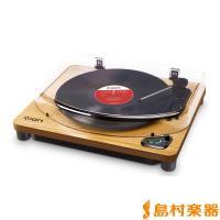 Air LP WDは、ピアノブラック仕上げのBluetoothレコードプレーヤーAir LPのカラー...