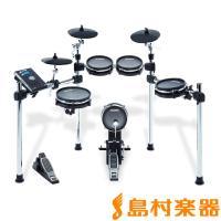 全てのパッドにメッシュヘッドを搭載しながら、真のドラムの演奏感を体験できるドラムキット。  ペダル付...