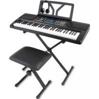 キーボード 電子ピアノ  onetone ワントーン OTK-61S ブラック 61鍵盤 スタンド いす ヘッドホン セット 子供 子供用 キッズ プレゼント  楽器