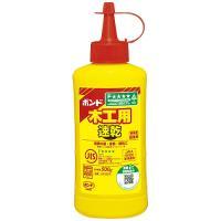 速乾タイプの木工用接着剤。 ※ホルムアルデヒド・フタル酸系可塑剤を使用していません。 ●木工用接着剤...