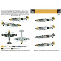 SBSモデル 1/48 ハンガリー空軍 メッサーシュミット Bf109G-10 プラモデル用デカール SBMD48029