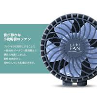 abbi Fan ハンズフリー USB扇風機 ポータブル扇風機 手持ち 卓上 ボタン 3段階風量調節 強風 オフィス おしゃれ 携帯扇風機 小型扇風機 ハンディファン コンパク|shinbeejapan|06