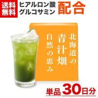 北海道の大自然の中で10年の歳月をかけ誕生した青汁。美容健康成分であるグルコサミンとヒアルン酸を独自...