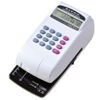 2段階に印字圧を調整可能な刻み込み印字  ●桁数:10桁  ●外寸:幅109×奥233×高97mm ...