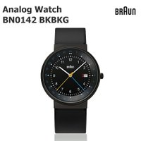 59b3357bac 【BRAUN ブラウン】BRAUN Analog Watch BN0142 ブラック 腕時計/ウォッチ/ビジネス/メンズ/北欧/デンマーク