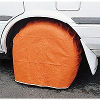 タイヤを被うための養生カバーです。エフパックタイヤカバーは周囲にゴムを縫い込んでありますので、塗装時...