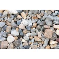 セメントと混ぜて使用できる砂利です。 色・形・大きさもバラバラのバラスです。