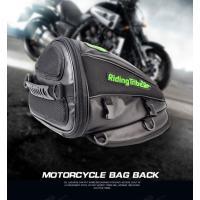シートバッグ バイクバッグ バイク用 ツーリングバッグ アウトドア 2WAYS 大容量 防水 収納 多機能 RidingTribe 商標登録第5891725号