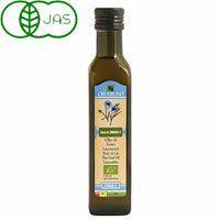 イタリア、EU原産の100%有機亜麻の種子を使い、伝統的な製法であるコールドプレス低温圧搾にて抽出さ...