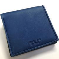 二つ折り財布 メンズ 鹿革 エルクレザー フィンランドエルク 送料無料