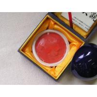 印泥容量:60g  鮮やかな淡赤色の篆刻印泥です