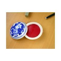 容量:15g   赤みが強い紅系の篆刻印泥