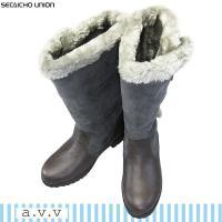 「送料無料(一部地域を除く)」 a.v.v(アーベーベー)ブランドの防水・防寒ブーツ。 昨年ヒットし...