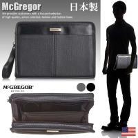 日本製 マックレガー McGregor セカンドバッグ ポーチ 財布 メンズ 21733 SD4119513 【Y_YI】■180123