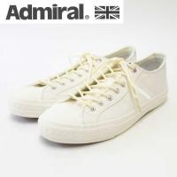 Admiralらしいボリューム感と、シンプルさを追求した バルカナイズ製法のスニーカー。ライニングの...