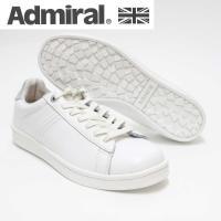 履けば履くほど味わいを増す上質なレザーを使用したAdmiralオリジナルの コートスニーカーパークラ...