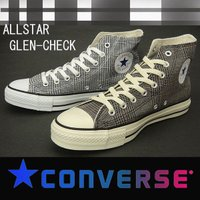 converse allstar glencheck  アッパー;コットン アウトソール;ラバー カ...