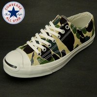converse jackpurcell hs 83camo  アッパー;キャンバス アウトソール;...