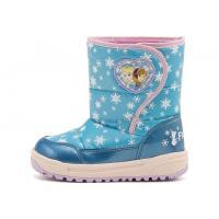 ディズニーの大人気映画「アナと雪の女王」のキッズ用ウインターブーツです。ミントカラーと雪の結晶が足元...