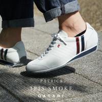 パトリック スニーカー アイリス スモーク PATRICK IRIS SMOKE 23140 靴紐通し済