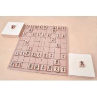 初心者から有段者まで楽しめる完全木製の将棋セットがついに登場!  駒、駒台(駒入れ)、盤はすべて木製...