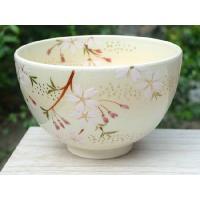 しだれ雛 父の日ギフトにおすすめ京焼 抹茶茶碗 昇 清水焼