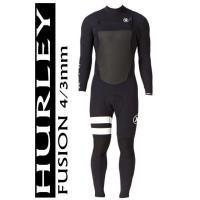*値下げ セール価格! HURLEY ハーレー メンズ  Fusion 4/3mm フルスーツ ジッ...