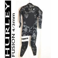 *値下げ セール価格!  HURLEY ハーレー メンズ  Fusion 4/3mm フルスーツ ジ...