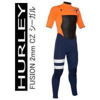 HURLEY ハーレー メンズ  Fusion 2/2mm シーガル ジップレスモデル   ハーレー...