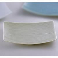 白山陶器の作品です。四隅の反りが盛り付けた料理を美しく見せます☆ストライプのレリーフが人気の秘密です...