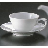 白山陶器の作品です水面のゆらぎをモチーフにしたティーカップ☆ゆるやかなカーブが柔らかい印象を与えてく...
