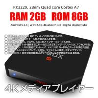 ◇ 4K対応TVボックス 仕様 ◇ ◆ CPU: RK3229 28nm クアッドコア Cortex...