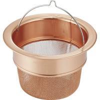 【商品名】 PT-015 ピュリティー 銅製ハイメッシュ 排水口ストレーナー
