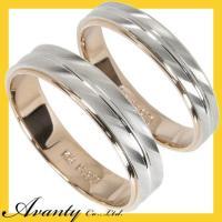 結婚指輪 マリッジリング ペアリング 2本セットです。地金貴金属は、1本目女性用 2本目男性用ともに...