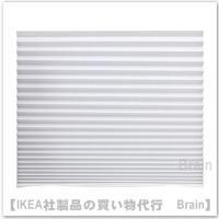 IKEA/イケア SCHOTTIS プリーツブラインド90x190 cm ホワイト