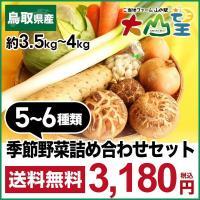 春夏秋冬に発送する野菜たちはこんな野菜たちです!  約3.5kg〜4kgを目安に、その季節、配送時期...