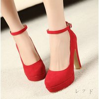 結婚式等フォーマルにも使える大人上品で シンプルな靴です足首のベルトが綺麗に見せてくれます。  35...