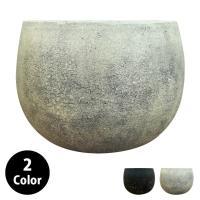 植木鉢・おしゃれ・テラコッタ アンティークボウルポット GP004-320 11号(32cm) 鉢底穴有り 丸型