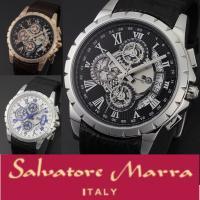 腕時計専門誌「Power Watch」掲載モデル イタリアンブランド「サルバトーレマーラ」 クォーツ...