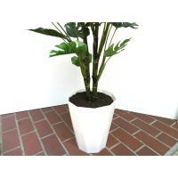 観葉植物 造花 大型 室内 人工観葉植物 消臭 抗菌 UDD触媒 モンステラリーフ 130cm  送料無料 フェイクグリーン