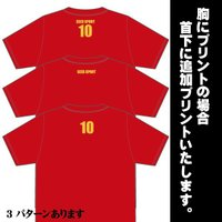 背番号TシャツType1ネーム・番号プリント無料追加キャンペーン|shop-seed|03