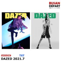 【表紙ランダム】 DAZED 7月号 2021.7 表紙:シンミナ 画報:TXT 和訳付き 韓国雑誌 1次予約 送料無料
