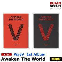 【2種ランダム】 WayV 中国版 規1集 [Awaken The World] ポスター 威神V ウェイションV 1次予約 送料無料