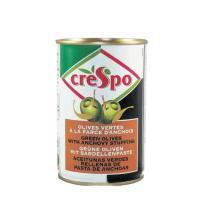 送料無料 クレスポ スタッフドオリーブ アンチョビ缶 ウイングコーポレーション 300g 12個