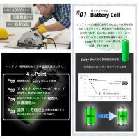 2倍容量 ダイソン V6 SV07 SV09 互換バッテリー 3000mAh 壁掛けブラケット対応 DC74 DC72 DC62 DC61 DC59 DC58|shopduo|02