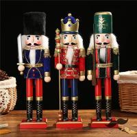 [ 商品名 ] 木工品☆置物くるみ割り人形 贈り物 装飾 兵士人形 王様人形 ラッキー 人形 贈り物...