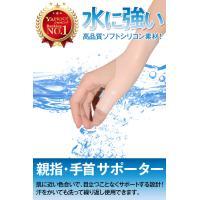 腱鞘炎 サポーター 手首 親指 指 の痛みに 母子CM関節症 水洗いOK 男女兼用 フリーサイズ 【2枚入り】