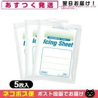 冷却材 大石膏盛堂 アイシングシートS(14x10cm) 5枚入り x3袋(合計15枚)+レビューで選べるおまけ付 「ネコポス発送」